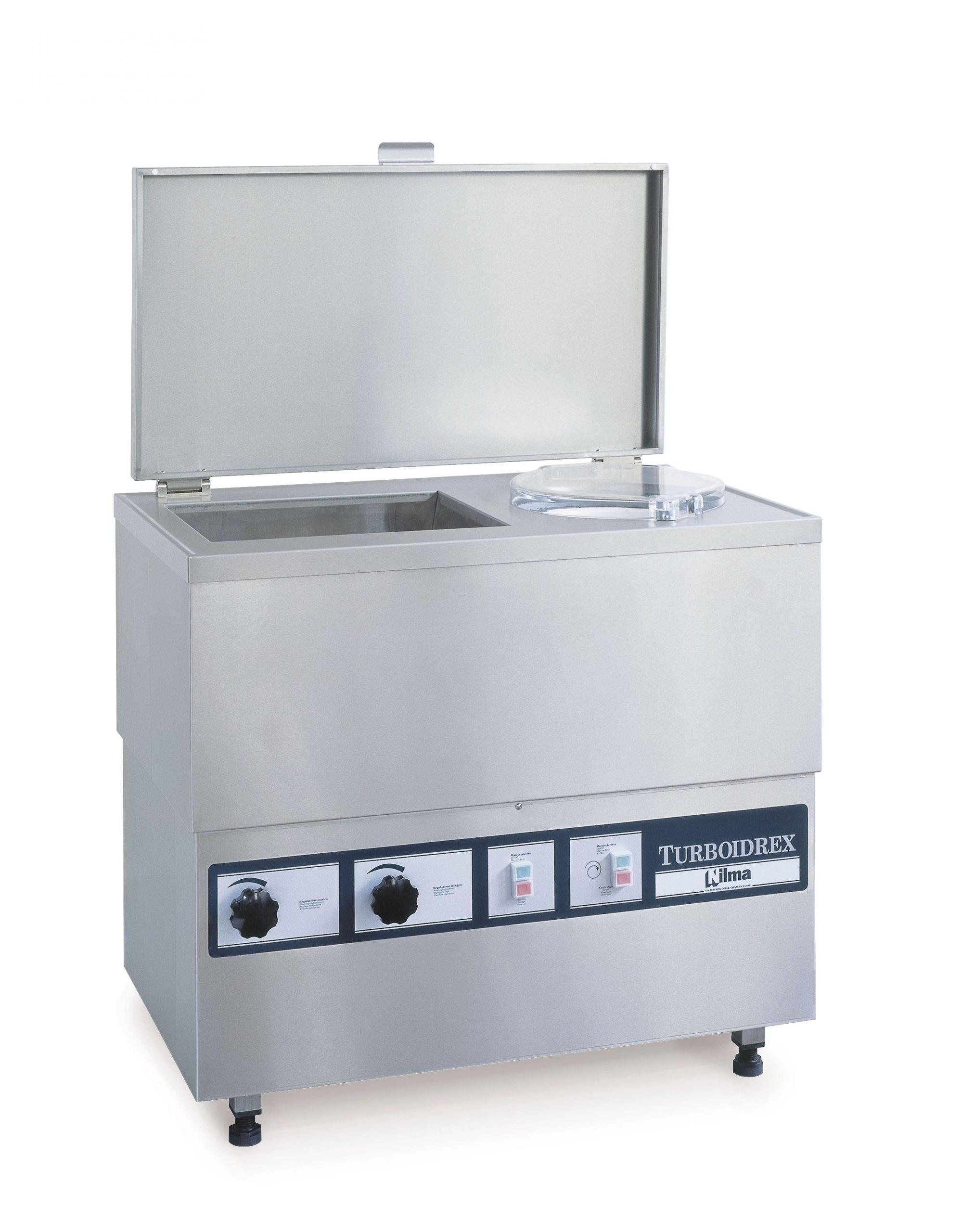 TURBOIDREX - Автоматическая моечная машина для овощей с отжимом