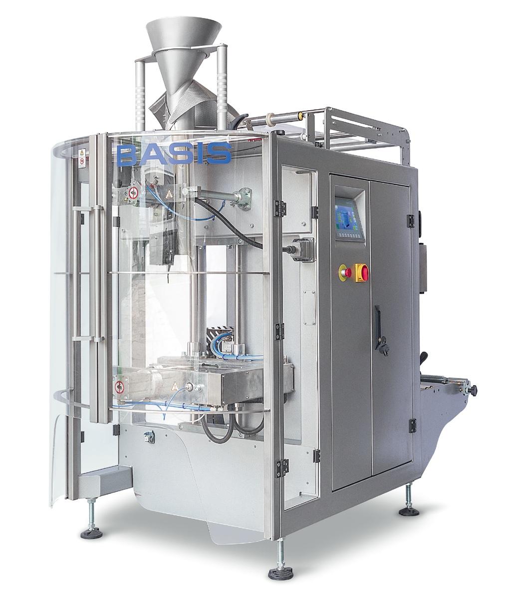 Вертикальная упаковочная машина BASIS10/10М