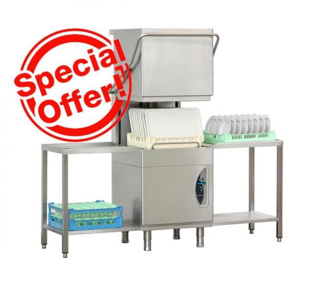 Посудомоечная машина, 60-30-20 корзин/ч
