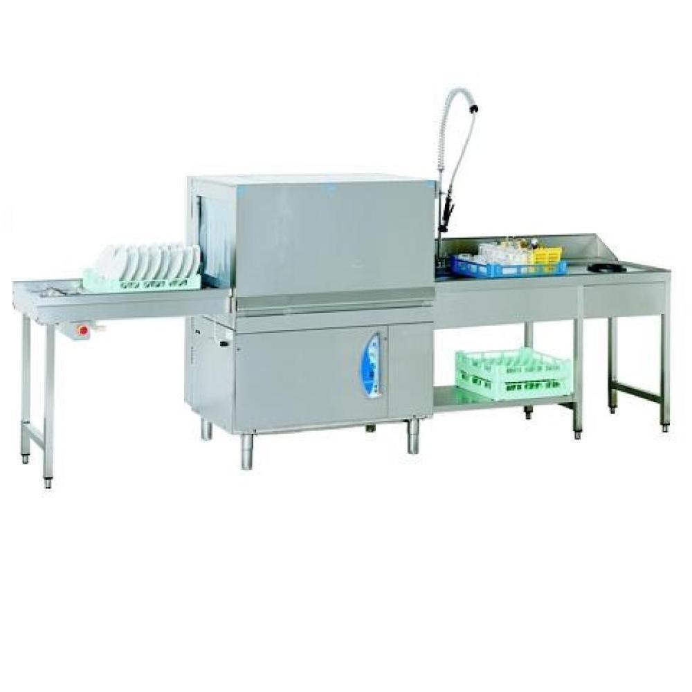 Посудомоечная машина с механизмом тяги кассет