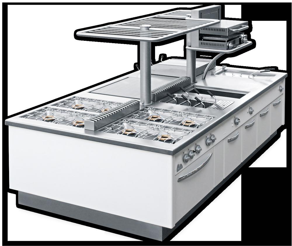Профессиональное кухонное оборудование по индивидуальному заказу MODULAR