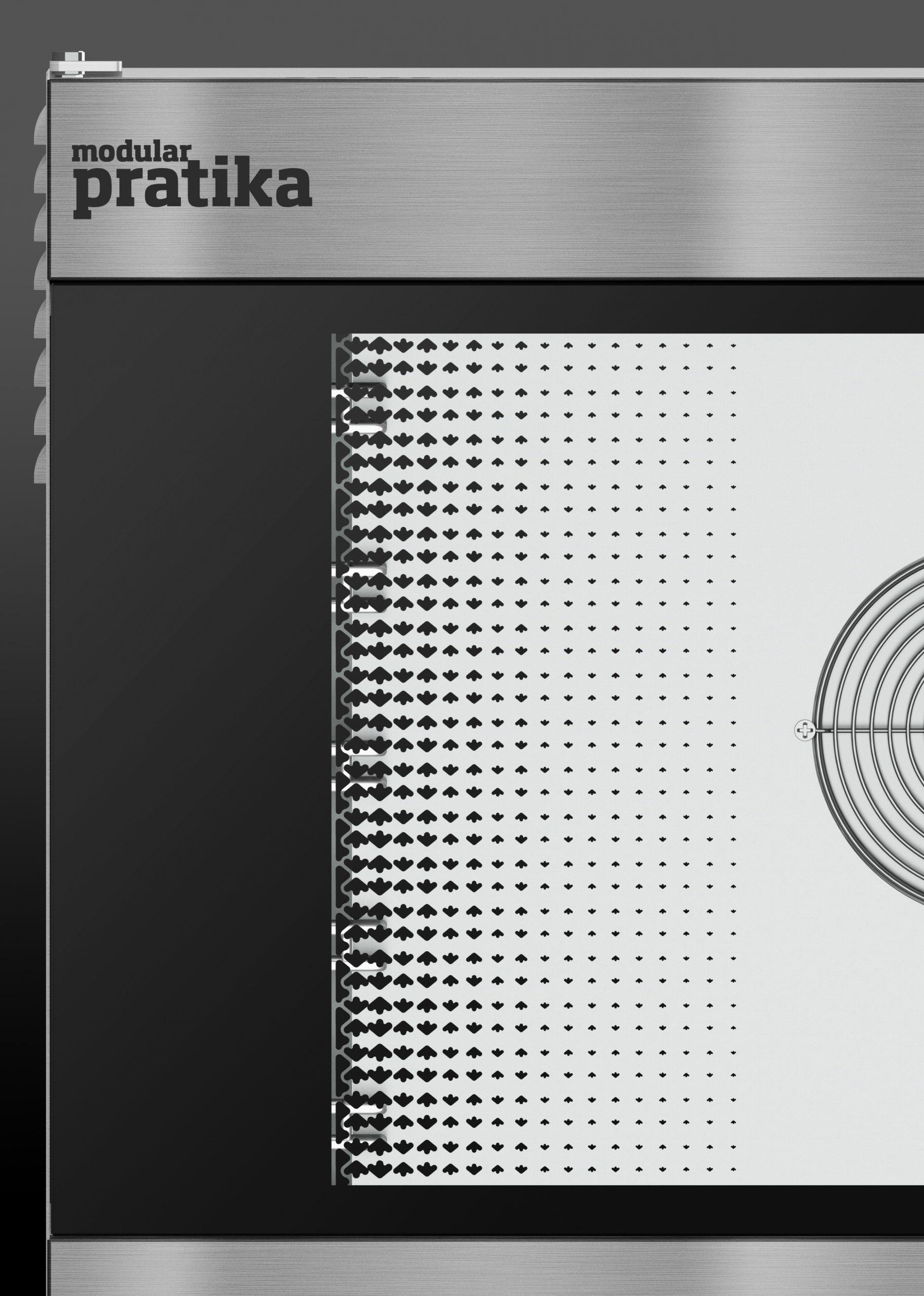 Пароконвектомат с сенсорным экраном FDE 101 T