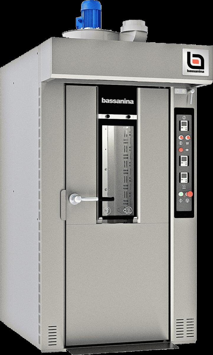 Ротационная печь с вращающейся тележкой FR COMPACT 50 X 70